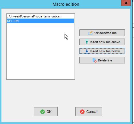 MobaXterm macro edition