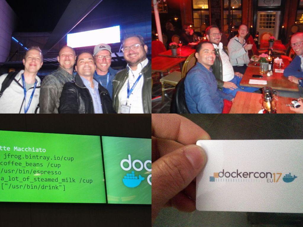 Docker event